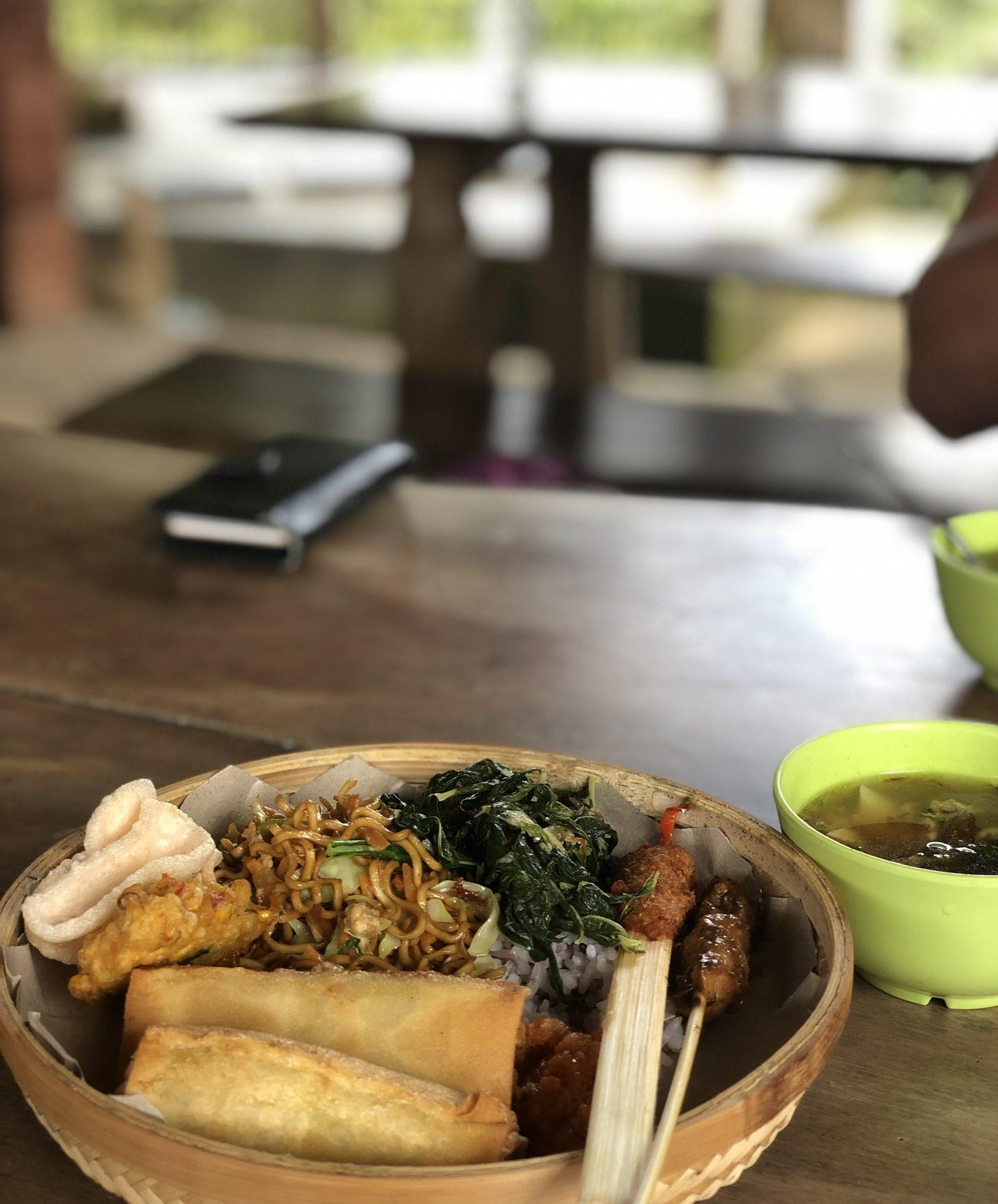 Local Food auf Bali