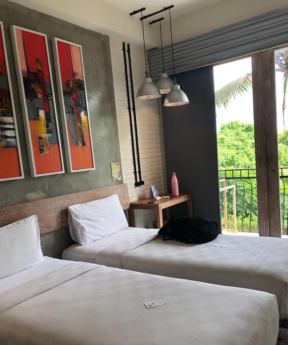 Hotelzimmer auf Bali