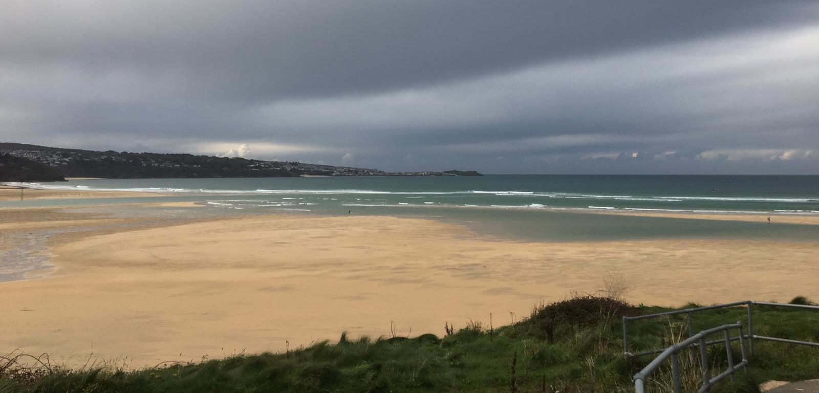 Strand in Cornwall