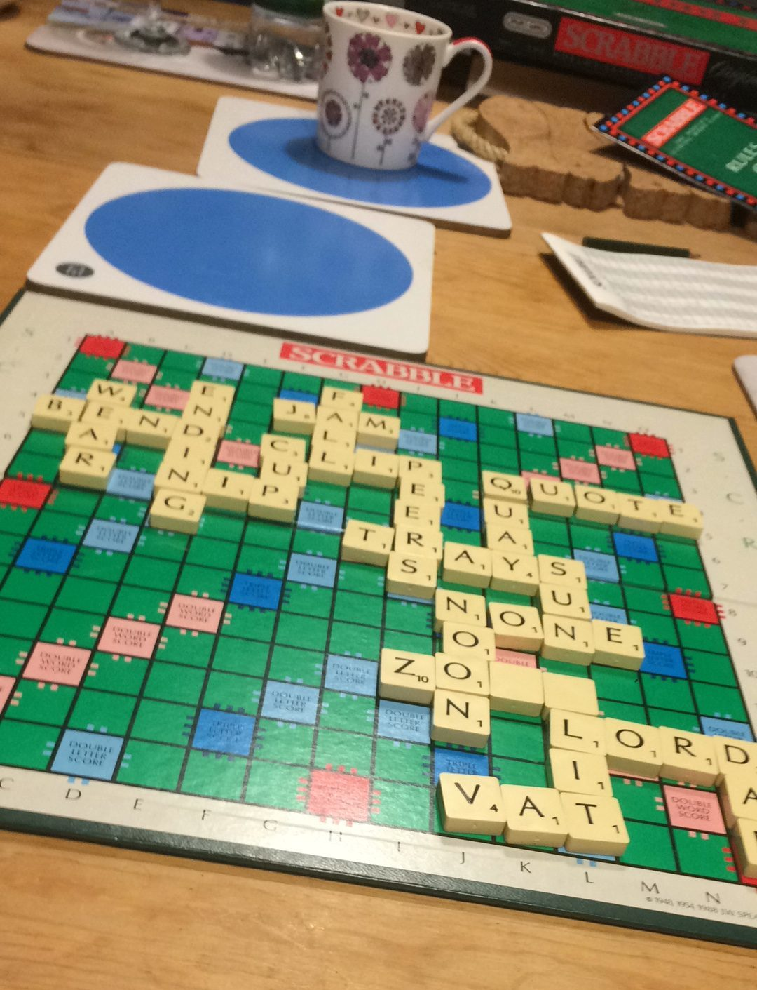 Scrabble in England
